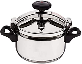 Outdoor Pressure Cooker Portable Camping Pressure Cooker, Stainless Steel Explosion-Proof Pressure Cooker Multi-Cook Slow Cooker Soup Pot, 3L-40L Large Capacity For Home Restaurant Hotel