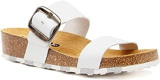 CCILU Horizon Olga White Sandals