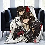 SDKJFLKAWES Vampire Knight 3D Print Ultra-Soft Flannel Throw Blanket Warm Throw Blanket All Season Bedding 50'x40'