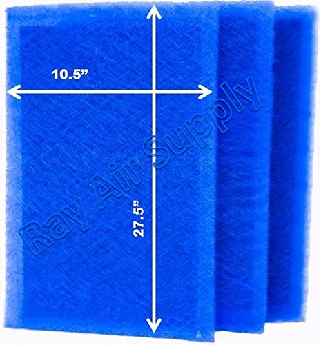 Buy Bargain RAYAIR SUPPLY 12x30 ARS Rescue Rooter Air Cleaner Replacement Filter Pads 12x30 Refills ...