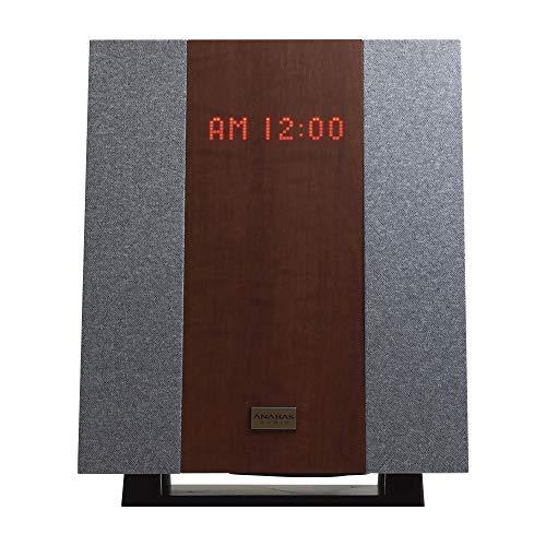 アナバス CDクロックラジオシステム AA-002 ANABAS CD CLOCK RADIO SYSTEM