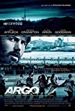 IFUNEW Der Kunstdruck Hot Rare Classic Movie Argo 2012 Art