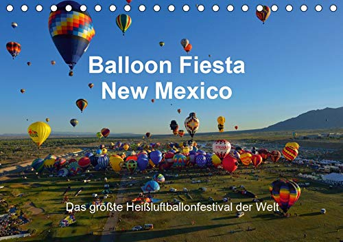 Balloon Fiesta New Mexico (Tischkalender 2021 DIN A5 quer): Das größte Heißluftballonfestival der Welt. (Monatskalender, 14 Seiten )