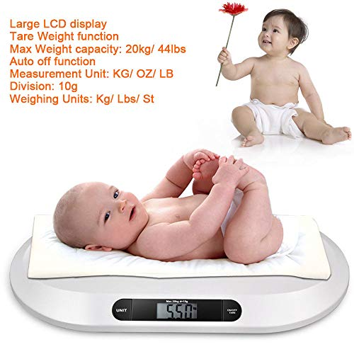 51DhZWTW9NL - Smart Weigh Comfort Baby Scale with 3 Weighing Modes