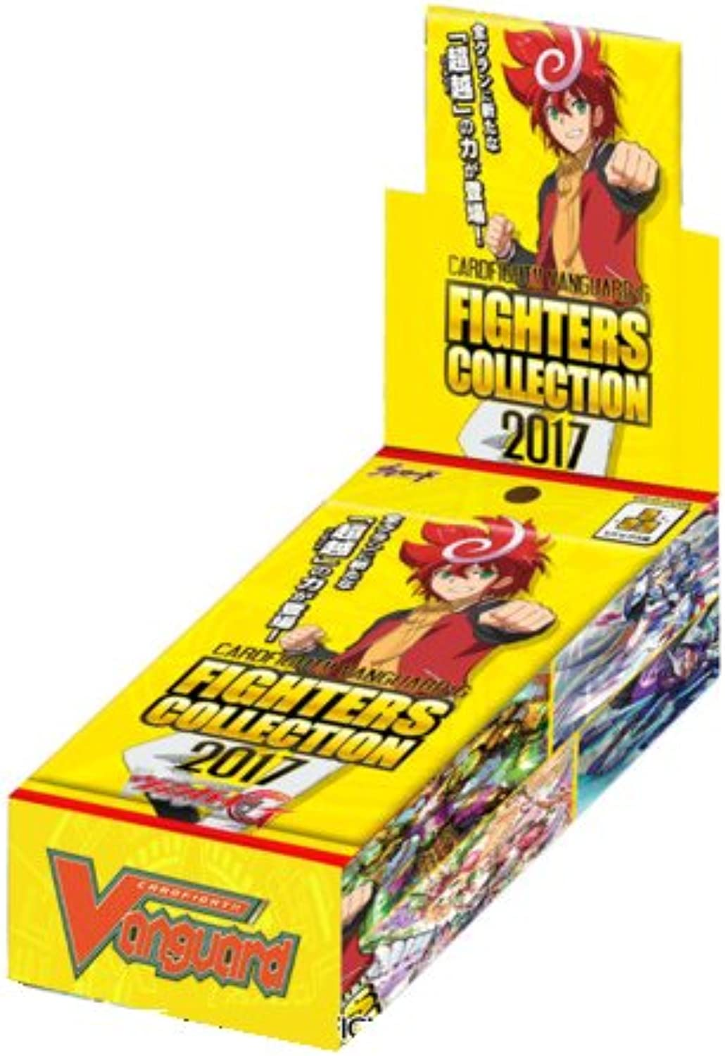 Cardfight Vanguard 2017 Fighter's Collection FC04 English Booster Box - 10 packs