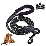 Wuudi Hundeleine für Hunde, 5 FT Trainingsleine Hunde Einziehbare mit Gepolsterte...