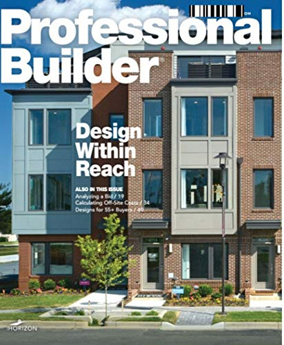 Professional Builder: Design Within Reach