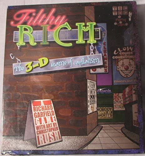 barato Filthy Rich Rich Rich the 3-D game of capitalism by wizards of the coast  últimos estilos