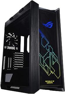 کیس کامپیوتر گیمنیگ Asus مدل ROG Strix Helios GX601 RGB Mid-Tower مخصوص برای مادربرد های EATX با پنل USB 3.1، شیشه دودی و ساخت وساز آلومینیومی و فولاد همراه با چهار فن تهیه هوا و خنک کننده