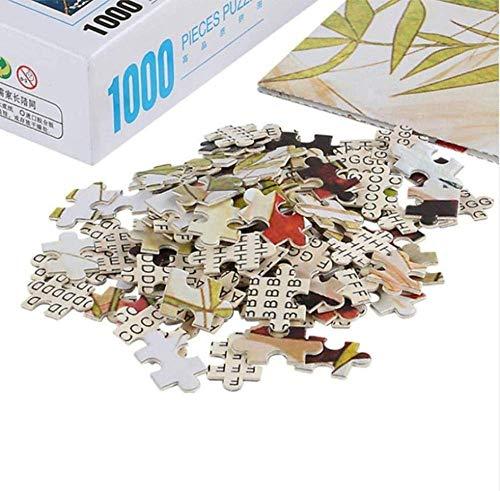 Puzzels 1000 stukjes voor volwassenen Vliegtuig vliegt in de lucht Woodens Speelgoedspel Ontdek creativiteit en probleemoplossende legpuzzels