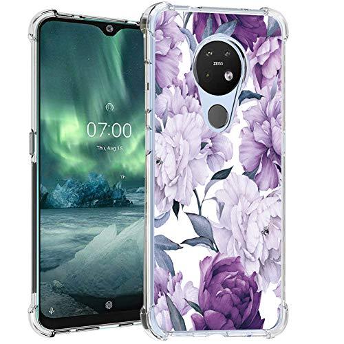Bereajoy - Carcasa para Nokia 7.2 (poliuretano termoplástico)