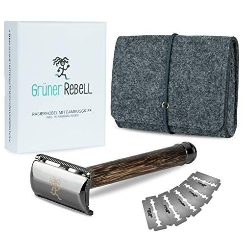 Grüner Rebell -  ® Rasierhobel Set