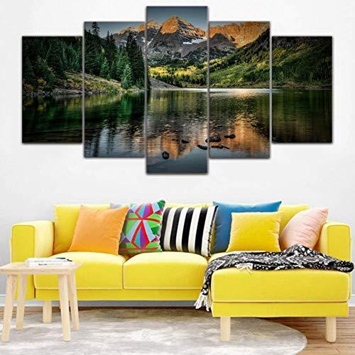 Leinwandbild Canvas Seeblick