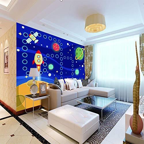 Vliestapete Fototapete Rakete Tapete Vlies Wohnzimmer Schlafzimmer Fototapeten Geschenk Home Wand Haus Dekor W400Xh280Cm