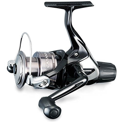 Shimano Catana 2500 RC, Carrete de Pesca con Freno Trasero, Cat2500Rc