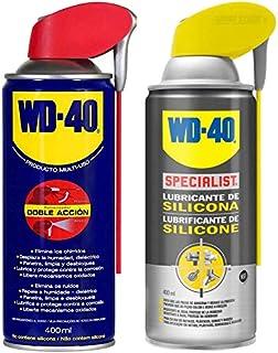 Wd 40 - Wd-40 - Lote Lubricante Wd40 Doble Accion 400Ml + Specialist Lubricante De Silicona 400Ml - Pack 2 Unidades Wd-40 - Wd 40