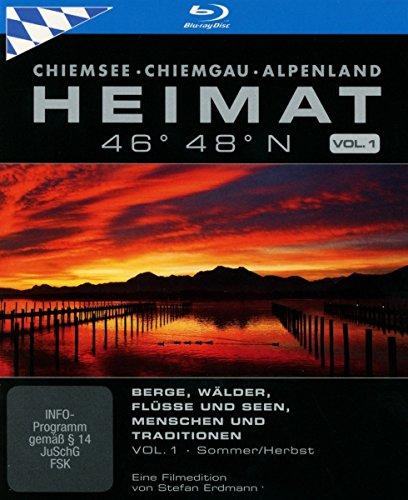 Bayern | HEIMAT 46° 48° N - Chiemsee, Chiemgau, Alpenland, Vol. 1 [Blu-ray]