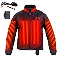 Venture Heat 12V Motorcycle Heated Jacket Liner with Wireless Remote