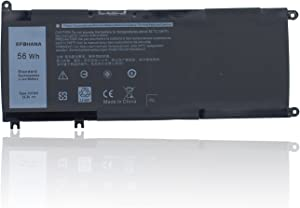 efohana 33YDH Laptop Battery Replacement for Dell 7577 7773 7778 7779 7786 Vostro 7570 7580 G3 3579 3779 G5 5587 G7 7588 Latitude E3590 Series Notebook PVHT1 81PF3 081PF3 P30E 15.2V 56Wh