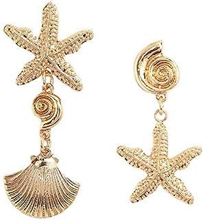 nueva estilos 03936 142a5 Amazon.es: La estrella de mar - Pendientes / Mujer: Joyería