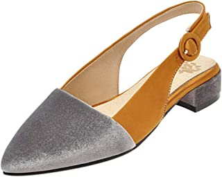 BeiaMina Women Casual Low Heel Pumps Slingback