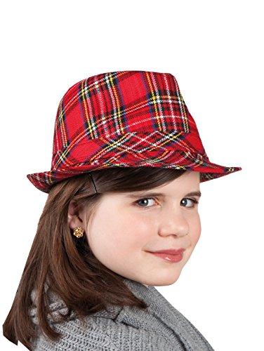 Boland 04113 Popstar Chapeau pour Enfant Motif écossais Multicolore Taille Unique