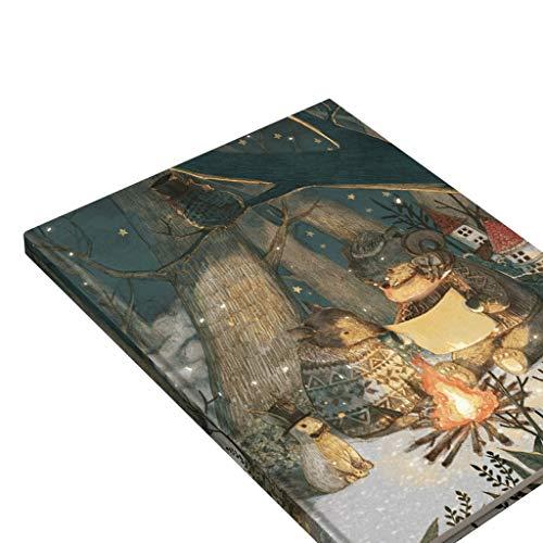 AAZZ Cuaderno Diario Bosquejo del Libro de Cuaderno Grande Cubierta en Blanco con Espiral Bloc de Dibujo de bocetos de Dibujo Pintura 9.8'X13.3, En Blanco Viajes Revistas Cuadernos para Mujeres