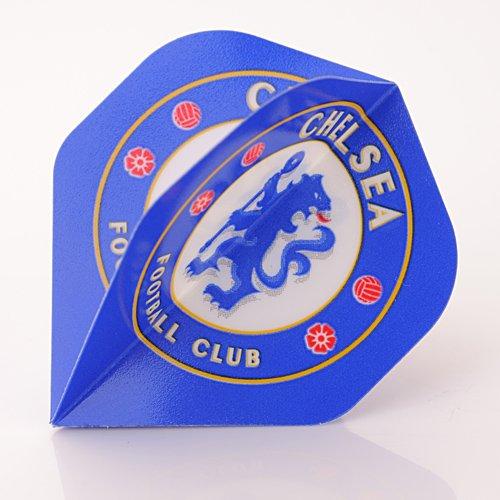 Official Chelsea FC Dart Flights / Wappen Dart Flights von 3 packen