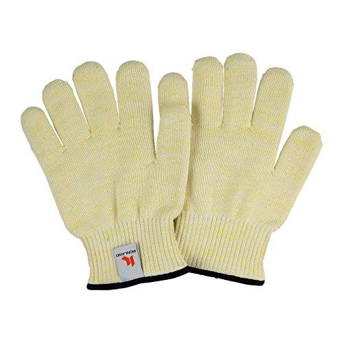 Guantes resistentes al calor Protección hasta 932 ° F / 500 ° C 1 par de guantes de parrilla