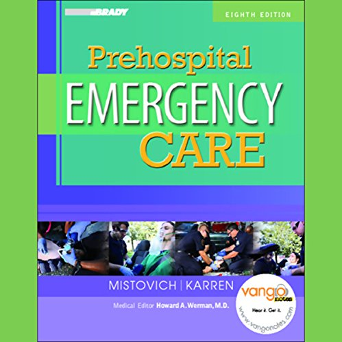 VangoNotes for Prehospital Emergency Care audiobook cover art