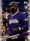 2019 Topps Alliance of American AAF #7 Michael Vick Atlanta Legends Football Trading Card
