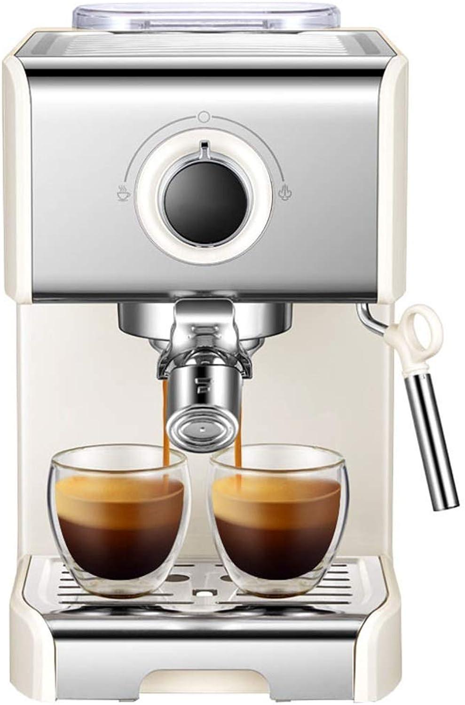 edición limitada LJZQ LJZQ LJZQ Máquina de café Bean To Cup 1250 Watt 1.2 litros de volumen del tanque de agua (Plata)  barato y de moda