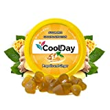 COOLDAY Natural Drops Instant Relief – Sugar Free Natural Flavor Lozenges -100 Years of Constant Research in Each Drop-Gluten Free, Vegan - 50-Coun (Ginger and Propolis- 50 Drops)