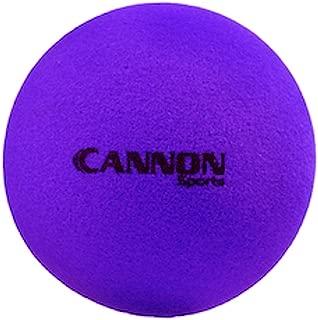 Cannon Sports Uncoated Foam Ball,  8.5 L/H/W - Purple