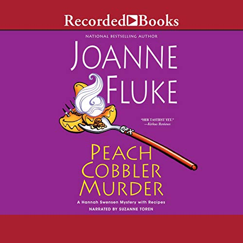 Peach Cobbler Murder audiobook cover art