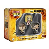 Funko Pop Television : The Walking Dead - Rick Grimes,Daryl Dixon Teddy Bear Girl 3.75inch Vinyl Gif...