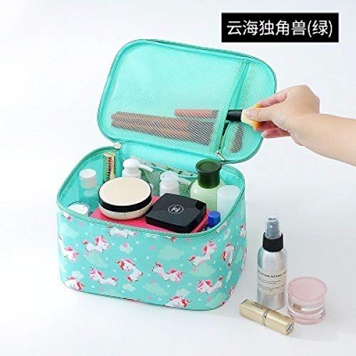 Travel Makeup Bag Organizer Polyester Women Cosmetic Bag Waterproof Portable Toiletry Bag Ladies For Kits