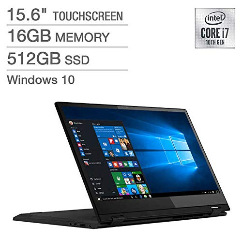 Best Buy! Latest_Lenovo Flex 15 15.6 LED-Backlit FHD Touch Display, 10th Generation Intel Core i7-1...
