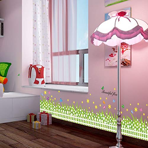 Wrattenmuursticker Kick-Line wand-tot-muur, slaapkamer behang-naar-verf, nachtkastje warm behang 50 * 70Cm