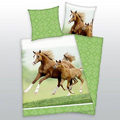 Herding Parure de lit Jument avec poulain