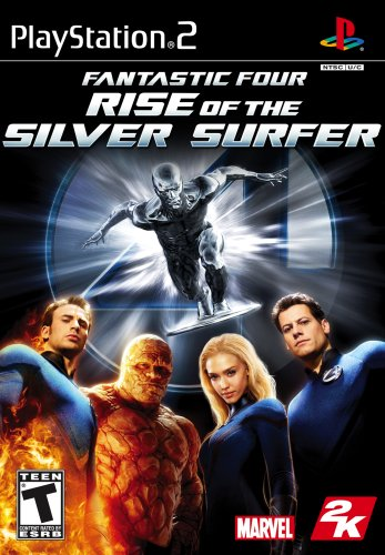 Fantastic 4: Surfista Rise of the Silver - PlayStation 2