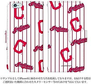 Xperia Ace SO-02L ケース [デザイン:04.インディアンス/マグネットハンドあり] MLB 30球団 手帳型 スマホケース カバー エクスペリア エース so...