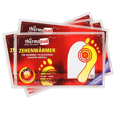 10 x chaufferettes Thermopads Orteils Plus Chaud Chaleur Coussin wärmepad Heatpaxx