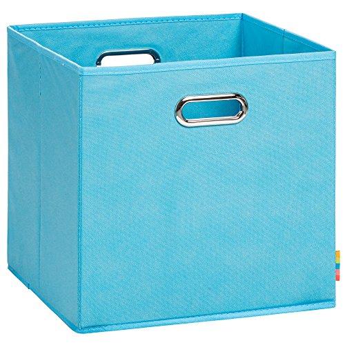 (H&S) Aufbewahrungsbox LEA - Faltbox - Korb - 33x33x33 cm -