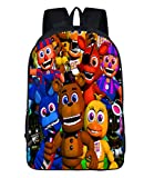 MaeFte Five Nights at Freddy's Color Printed Backpack Rucksack School Bags For Kid (E)