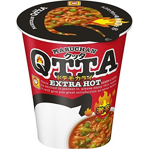 マルちゃん MARUHAN QTTA Extra HOTラーメン 85g ×12個