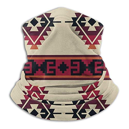 brandless Daryl Dixon Poncho Pattern Bandana for Rave Face Mask Dust Wind Uv Sun Neck Gaiter Headwear for Women Men