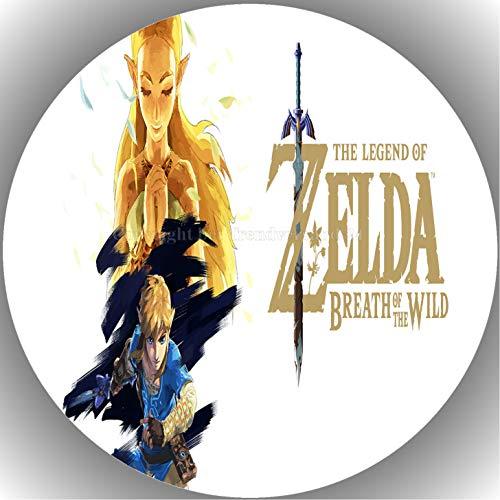 Fondant Tortenaufleger Tortenbild Geburtstag Die Legende von Zelda AMA27