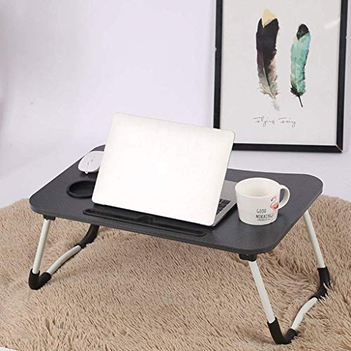 Foldable Laptop Table for Bed,Portable Mini Picnic Desk Work From Home Notebook Stand for Couch Floor