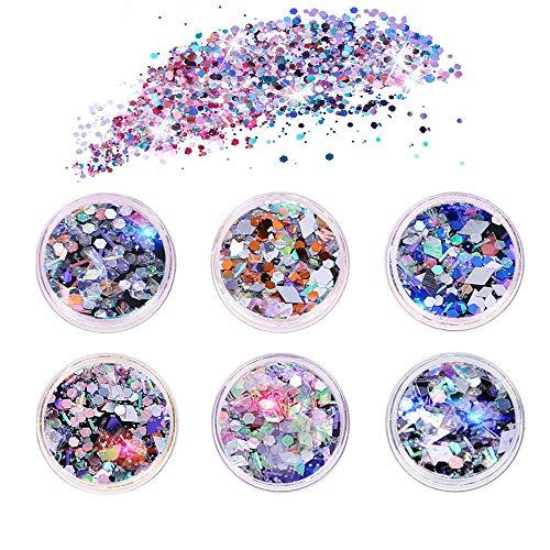 Lentejuelas de Color de uñas